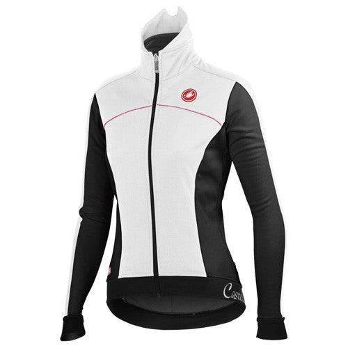 Castelli Womens Viziata Winter Jacket - White