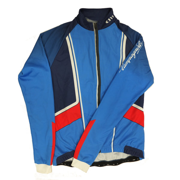 Campagnolo Womens Challenge Long Sleeve Jersey - Lake Blue