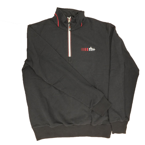 Zero RH+ Mens Logo Zip Sweatshirt - Black