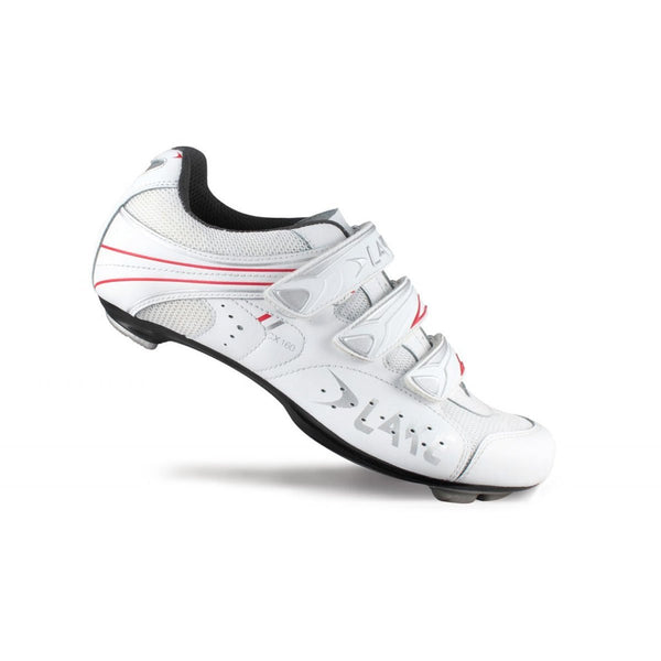 Lake Mens CX160 Road Cycling Shoes - White