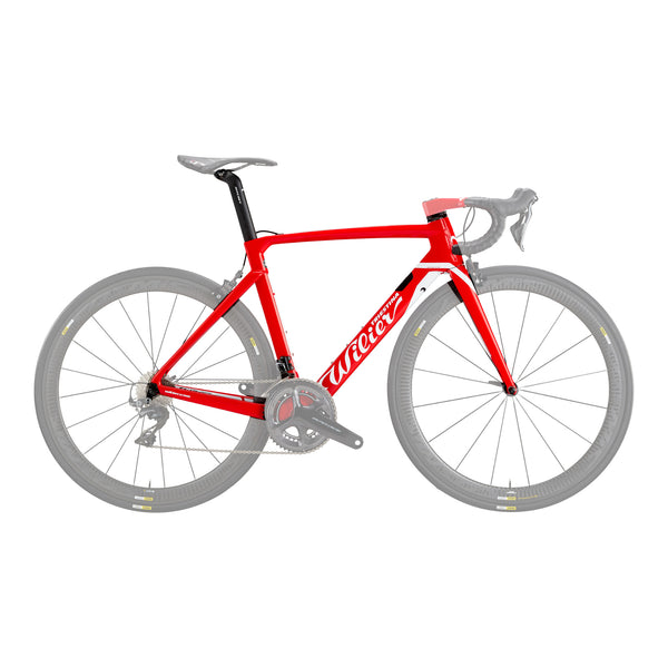 Wilier Cento 10 Air Frameset - Gloss Red/White