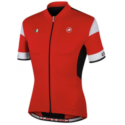 Castelli Mens Fuga Jersey - Red