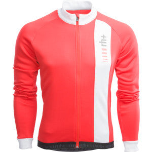 Zero RH+ Mens Grand Prix Long Sleeve Fleece Jersey - Red