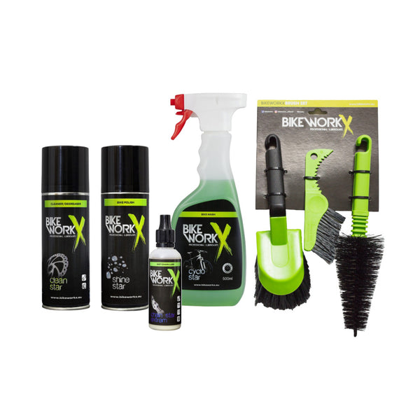 BikeworkX Bicycle Maintenance Kit - Dry Weather Use