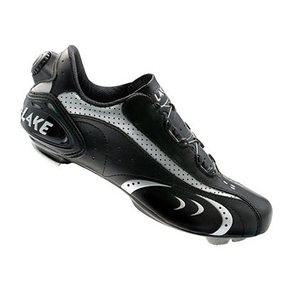 Lake Mens CX170 Road BOA Cycling Shoes - Black