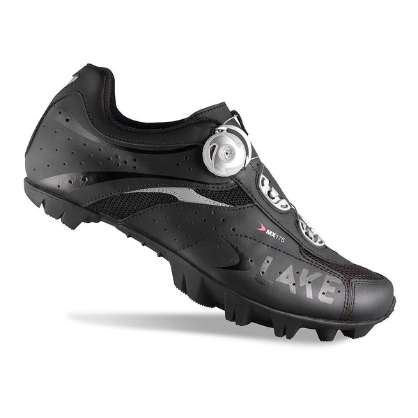 Lake Mens MX175 BOA MTB Cycling Shoes - Black