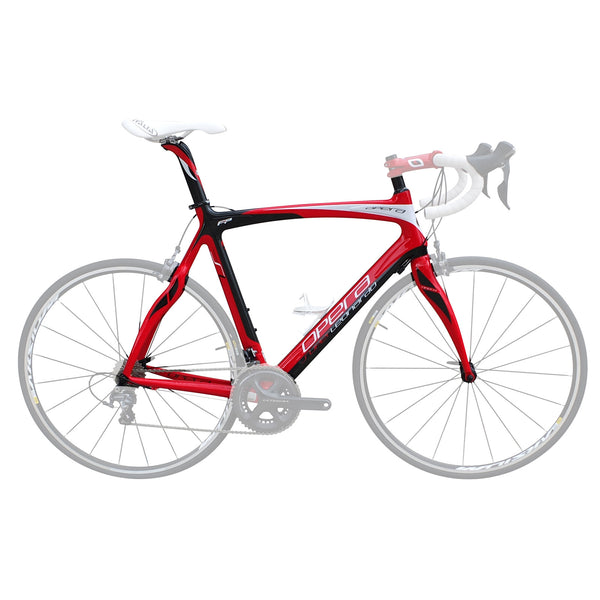 Opera Super Leonardo Carbon Fiber Frameset - Red/Black