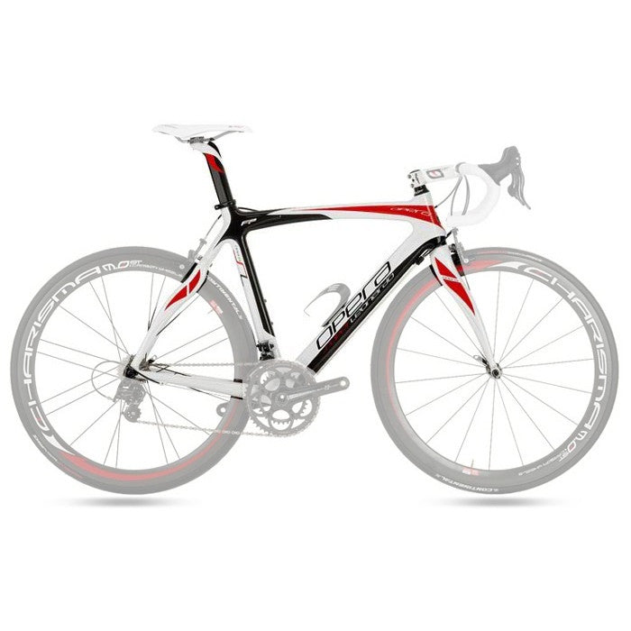 Opera Super Leonardo Carbon Fiber Frameset - White/Red