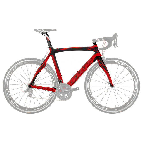 Opera Super Leonardo Carbon Fiber Athena Bike - Matte Red