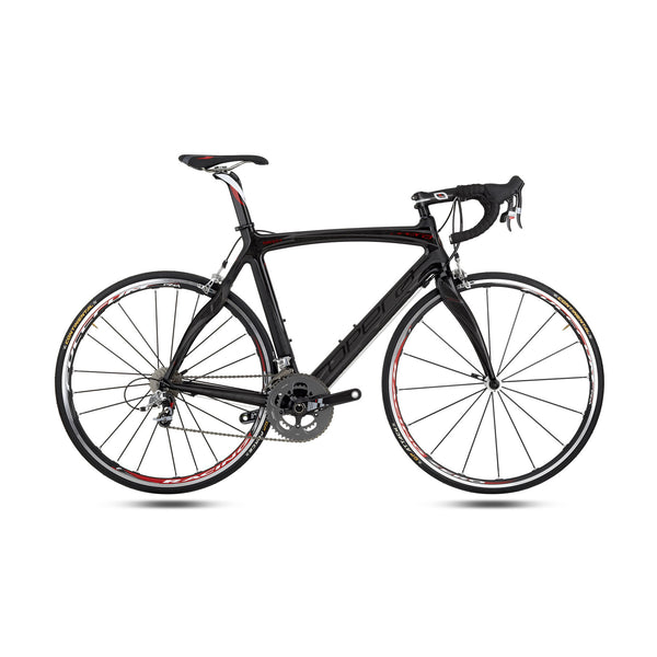 Opera Super Leonardo Carbon Fiber Dura-Ace Bike - Black/Red