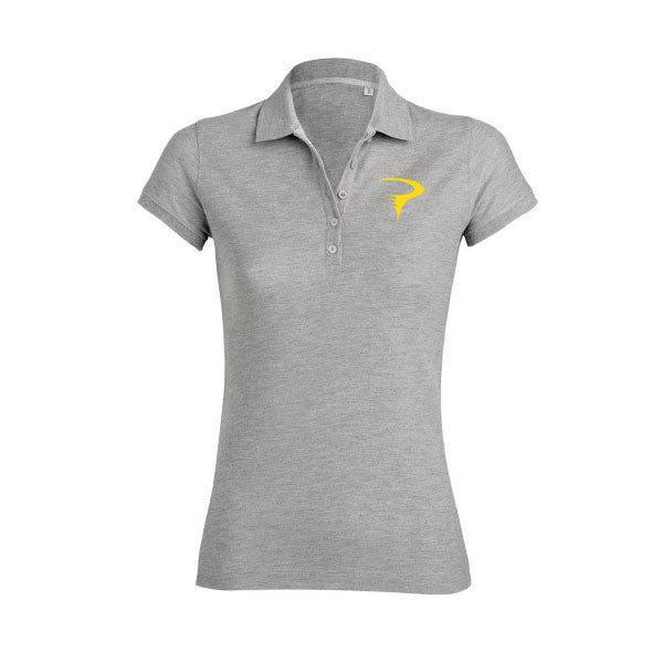 Pinarello Womens YellowToRed Polo Shirt