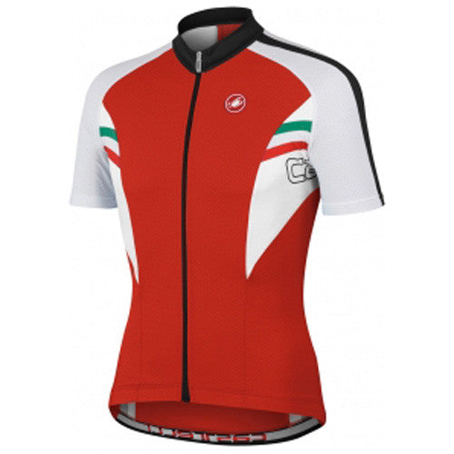 Castelli Mens Prima Jersey - Red