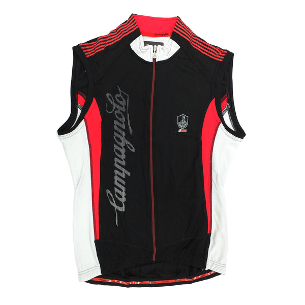 Campagnolo Mens Racing Sleeveless Jersey - Black