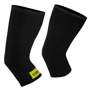 Castelli Thermoflex Knee Warmers - Black/Fluro Yellow