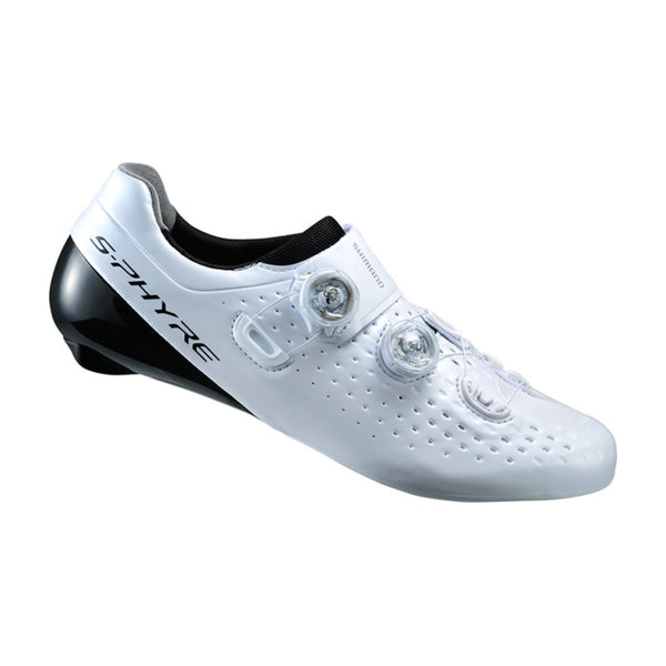 Shimano RC9 S-Phyre Cycling Shoes - Wide Fit White
