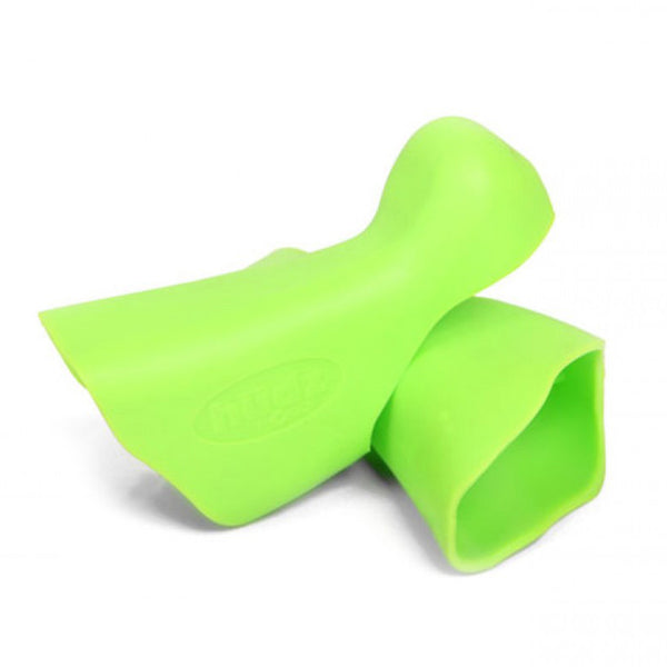 Hudz Enhancement Brake Hoods for Campagnolo 11 Speed - Milano Lime Green