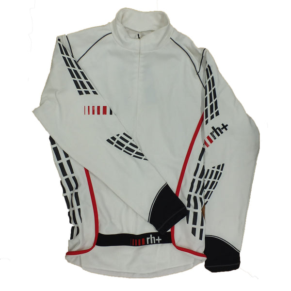Zero RH+ Mens Stretch Control Cycling Jacket - White