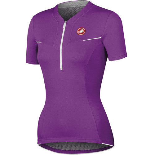 Castelli Womens Subito Jersey - Cyclamen Purple