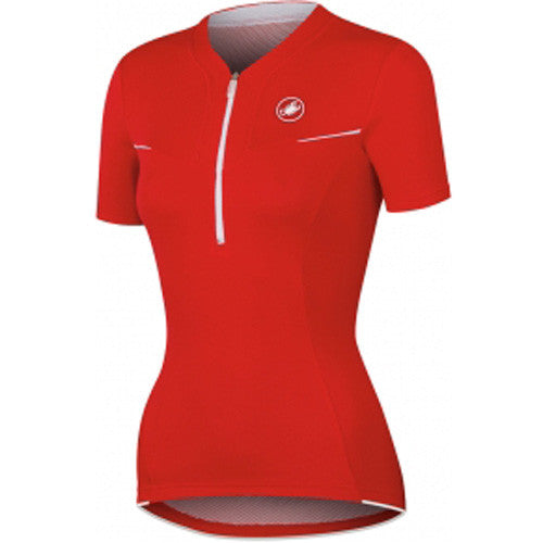 Castelli Womens Subito Jersey - Red