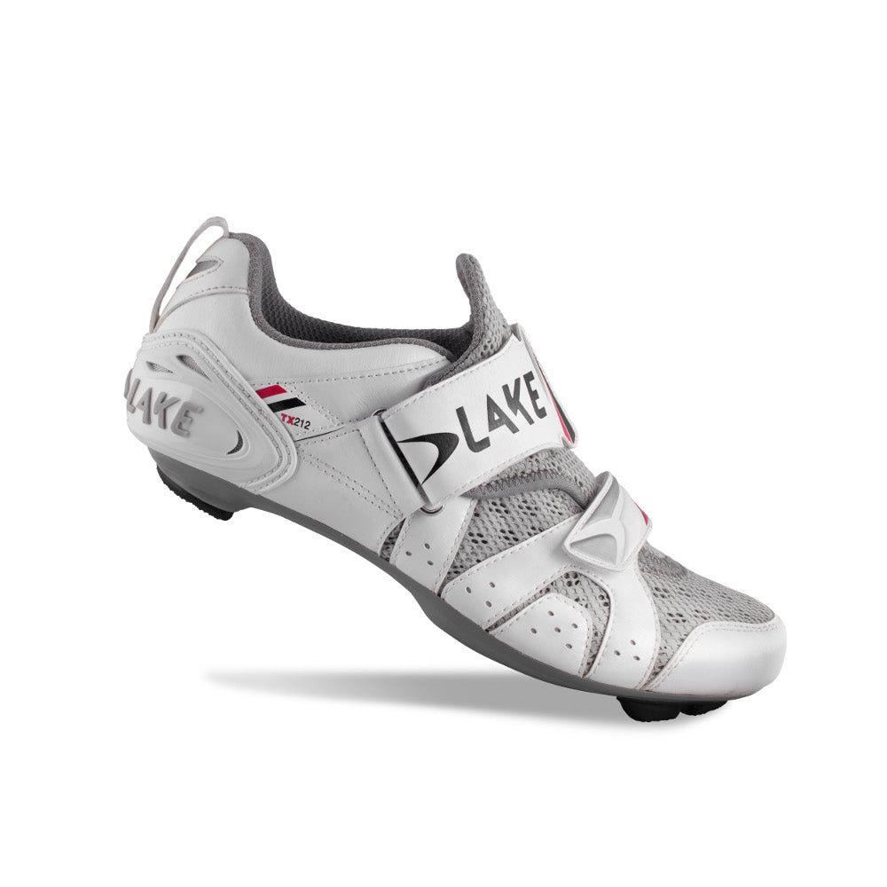 Lake TX212 Cycling Shoes - White/Black