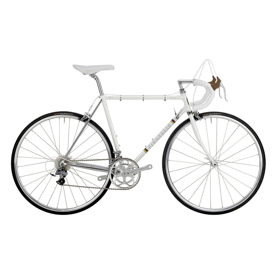 Pinarello Veneto Retro Steel Road Bike - Gloss White