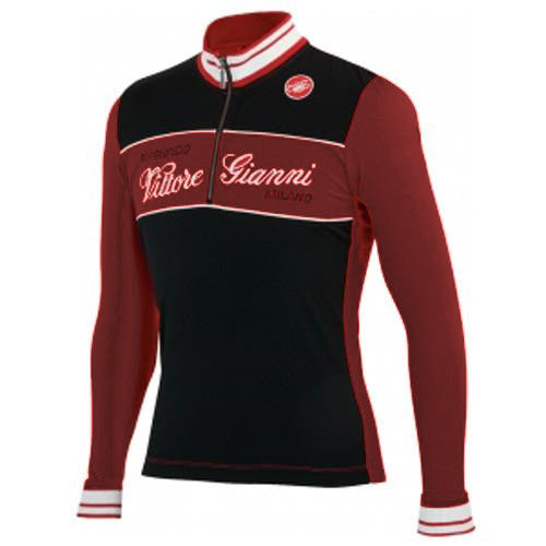 Castelli Vittore Gianni Long Sleeve Wool Jersey