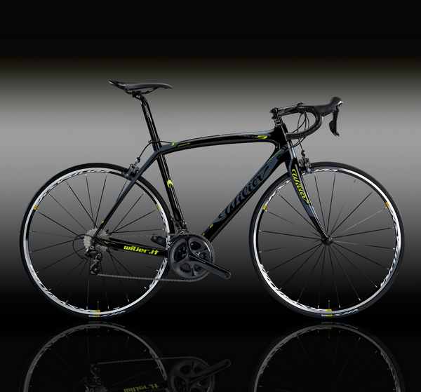 Wilier Zero 9 Complete Ultegra Bike - Gloss Yellow / Black