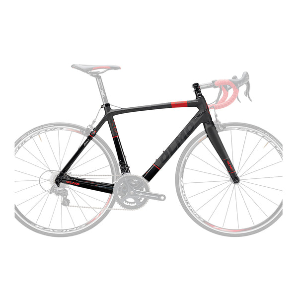Olmo Veloce Zero Uno Bicycle Frame - Black/Red