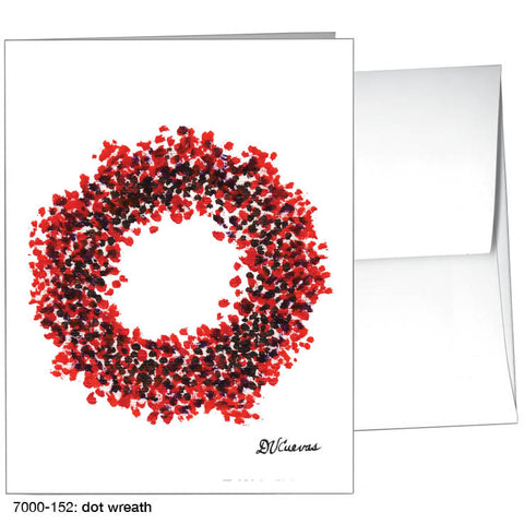 dot wreath (#7000-152)