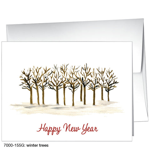 winter trees (#7000-155G)