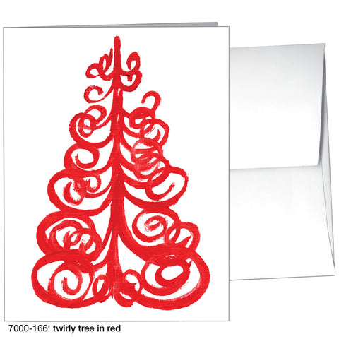 twirly tree in red (#7000-166)
