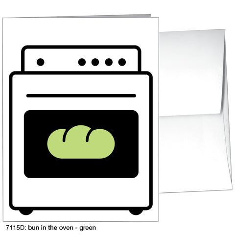 bun in the oven - green (#7115D)