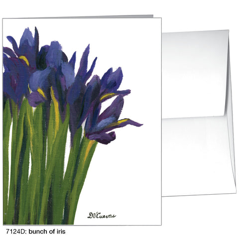 bunch of iris (#7124D)