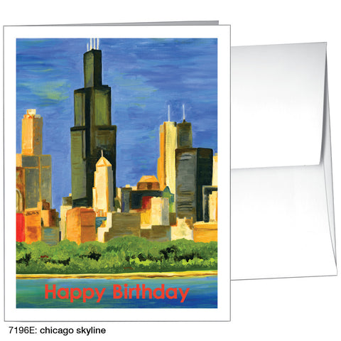 chicago skyline (#7196E)