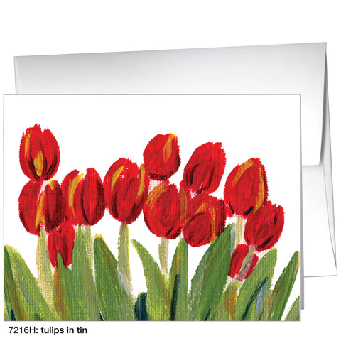 tulips in tin (#7216H)