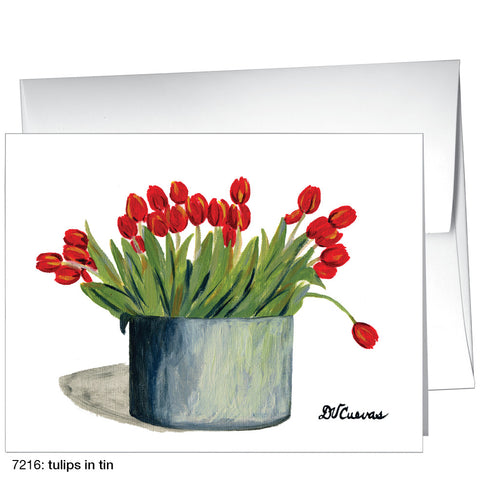 tulips in tin (#7216)