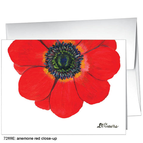 anemone red close-up (#7269E)