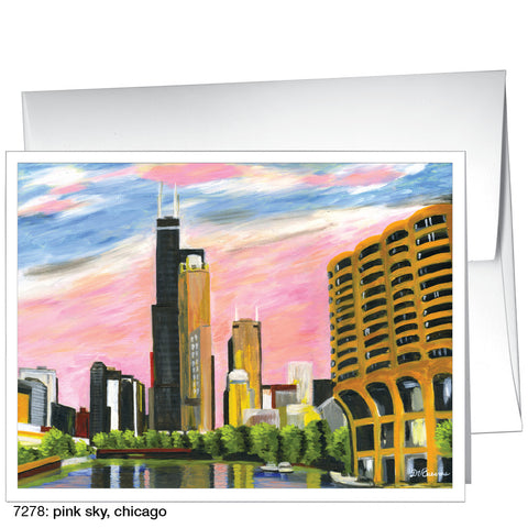 pink sky, chicago (#7278)