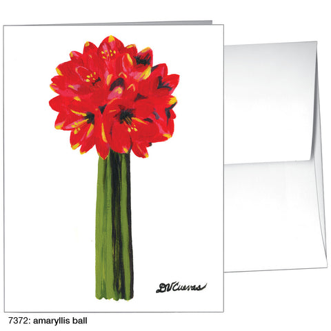 amaryllis ball (#7372)