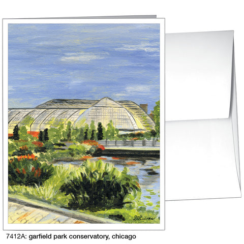 garfield park conservatory, chicago (#7412A)
