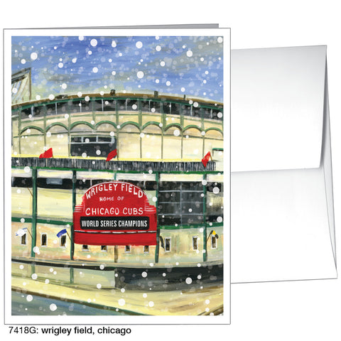 wrigley field, chicago (#7418G)