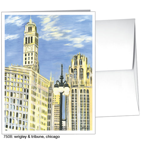 wrigley & tribune, chicago (#7508)