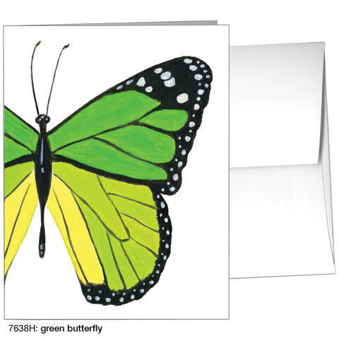 green butterfly (#7638H)