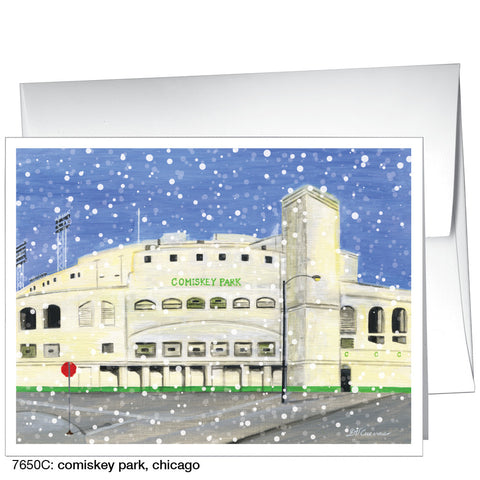 comiskey park, chicago (#7650C)