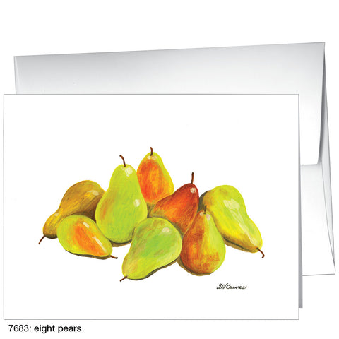 eight pears (#7683)