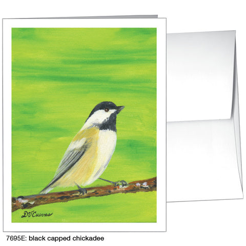 black capped chickadee (#7695E)