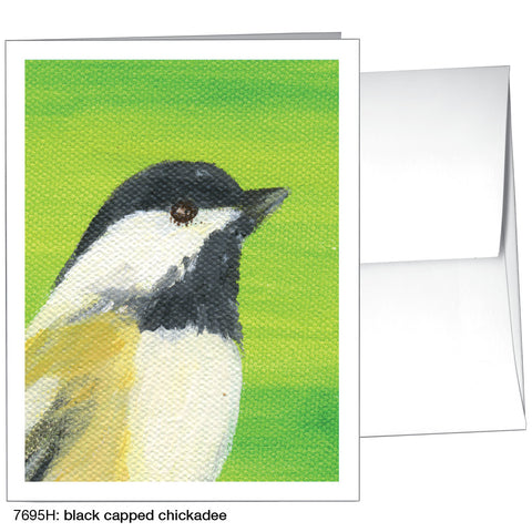 black capped chickadee (#7695H)