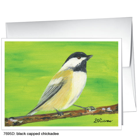 black capped chickadee (#7695D)