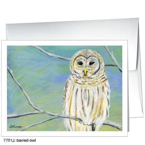 barred owl (#7701K)