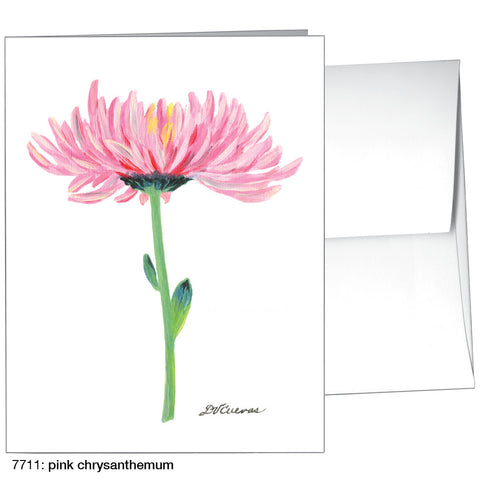pink chrysanthemum (#7711)